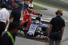 Formel 1 Malaysia - Vettel crasht mit Stroll: Strafe in Japan?