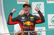 Malaysia-Statistiken: Verstappen Nummer elf, Vettel mit Rekord