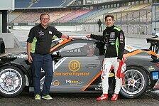 Carrera Cup - Fabian Vettel testet Porsche in Hockenheim