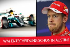 Formel 1 - Video: So wird Lewis Hamilton in den USA Formel-1-Weltmeister 2017