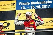 Rene Rast: DTM-Meister macht 2018 mit Audi weiter