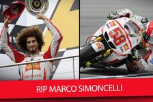 MotoGP - Video: Marco Simoncelli: Tribute zum 6. Todestag