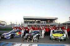 DTM 2018: Audi-Fahrer trainieren, Aufteilung auf Teams fix