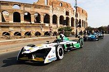 Formel E - Formel E rast mitten durch Rom