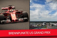 Formel 1 - Video: Formel 1 US GP 2017: Die Top-4 Brennpunkte in Austin