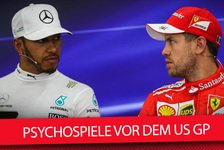 Formel 1 - Video: Hamilton vs. Vettel: Psychospiele vor dem US Grand Prix