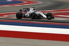 Formel 1 USA: Williams mit emotionalem Logo und auf Bewährung