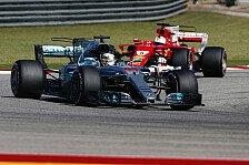 Formel 1 USA 2017: Hamilton gewinnt Austin-Spektakel vor Vettel