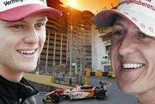 Mick Schumacher sehr froh über Vergleiche zu Vater Michael