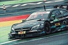 DTM - DTM: Max Günther testet für Mercedes