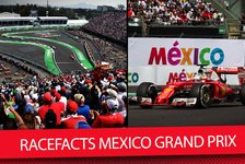Formel 1 - Video: Formel 1 Race Facts Mexiko 2017: Höhenlage kostet Motorleistung