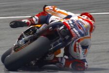 Marc Marquez mit irrem Monster-Save in Sepang