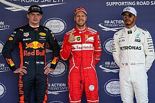 Formel 1, Mexiko-Favoriten: Hamilton vs. Vettel vs. Verstappen