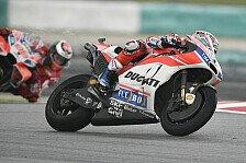 MotoGP-Analyse Sepang: Ducati bleibt im Regen eine Macht