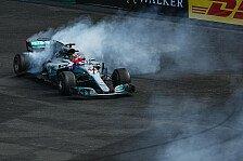 Formel 1 Mexiko 2017: Hamilton ist Weltmeister, Verstappen-Sieg