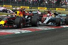 Formel 1 Mexiko - Vettel in Kritik: Hamilton-Unfall Absicht?