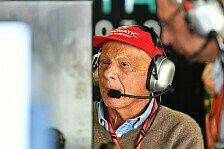 Niki Lauda auf dem Weg zurück: Von Vettel mit Brief überrascht