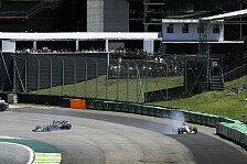 Formel 1 Brasilien 2017: Grosjean crasht Ocon um Rekord-Chance