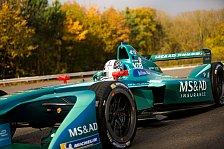 Formel E: Kobayashi - Ich muss auch Fiat Panda schnell fahren!