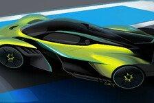 Red Bull und Aston Martin: Rennversion vom Hypercar Valkyrie