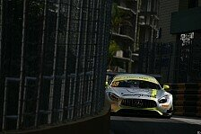 GT-Weltcup Macau 2017: Regen, Safety Cars, knapper Mortara-Sieg