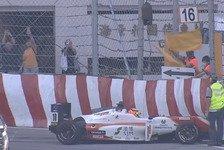 Mick Schumacher: Unfall im Macau-Training sorgt für Rote Flagge