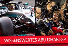 Formel 1 - Video: Wissenswertes Abu Dhabi Grand Prix