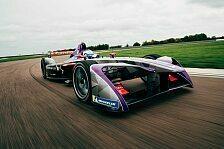Formel E: Geheim-Favorit Virgin zeigt neues Auto für 2017/18