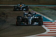 Formel 1 2017, Abu Dhabi: Bottas rettet Sieg vor Hamilton