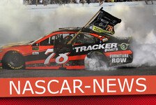 NASCAR Loudon: Martin Truex Junior fährt Bestzeit in Happy Hour