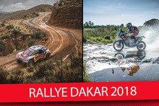 Dakar Rallye - Video: Rallye Dakar 2018: Das Wichtigste in 55 Sekunden
