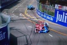 Formel E: Vergne holt Hongkong-Pole - verrückter Prost-Unfall