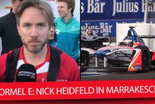 Formel E - Video: Formel E: Heidfeld zum Stinkefinger in Marrakesch