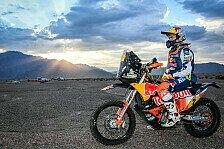 Dakar-Titelverteidiger Matthias Walkner vor Start nicht topfit