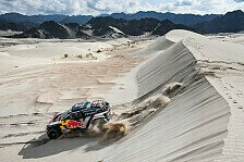 Dakar - Video: Rallye Dakar 2018: Sainz gewinnt - Highlights der Autos