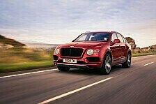 Bentley erweitert sein SUV-Sortiment mit dem Bentayga V8