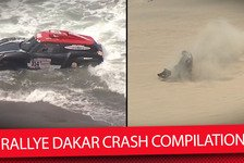 Dakar Rallye - Video: So hart war die Rallye Dakar 2018