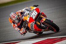 MotoGP-Test 2018: Pedrosa holt Bestzeit vor Ducati-Quartett