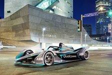 Formel E Fotos: Neues Generation-2-Auto ab 2018/19