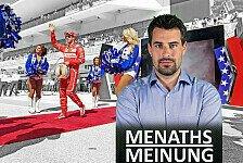 Formel 1 Menaths Meinung zum Grid Girl aus: Was ein Schwachsinn