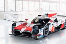 WEC 2018: Toyota zeigt Alonsos neuen Rennwagen