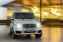 Galerie: Mercedes-AMG G 63 - Der Hochleistungs-Geländewagen