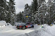 WRC Rallye Schweden: Shakedown-Bilder