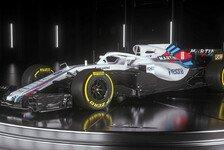 Formel 1, Williams präsentiert FW41: Aggressiver Look für 2018