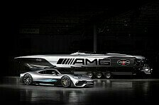 Mercedes-AMG Project One inspiriert Supersport-Rennboot