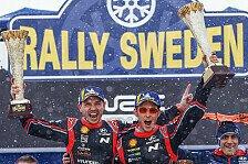 WRC Rallye Schweden im Live-Ticker: Neuville gewinnt