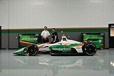 Rene Binder: Indycar ist noch cooler, als ich erwartet hatte!