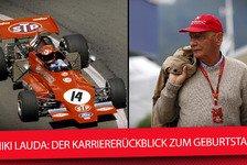 Formel 1 - Video: Niki Lauda: Formel-1-Karriererückblick zum Legenden-Geburtstag