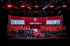 Formel 1 - Video: Formel 1 2018 Ferrari-Launch: Hinter den Kulissen