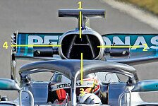 Mercedes F1 W09 im Technik-Check: Evolution de luxe